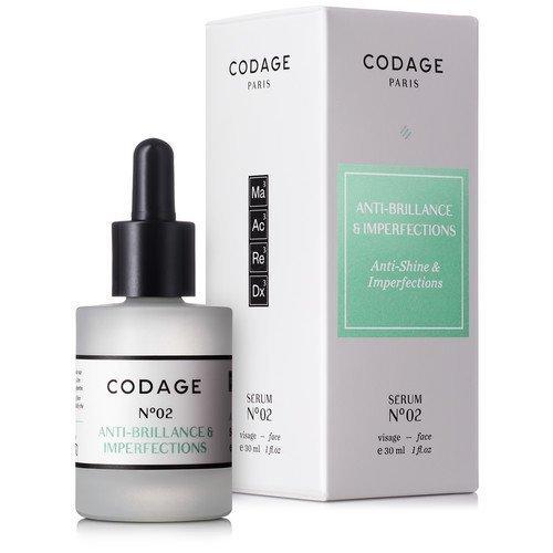 Codage Serum N°2 Anti-Shine & Imperfections 30 ml