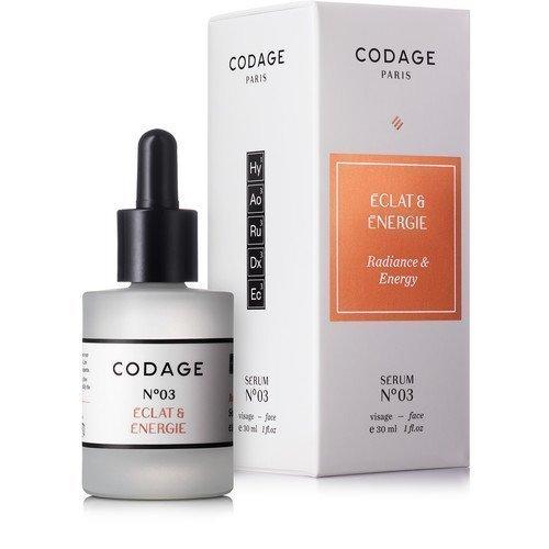 Codage Serum N°3 Radiance & Energy 30 ml