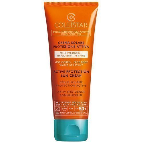 Collistar Active Protection Sun Cream Face-Body SPF 50+