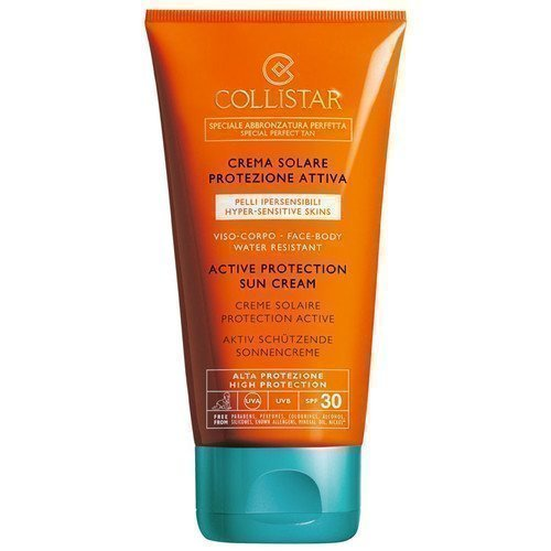 Collistar Active Protection Sun Cream Face-Body Spf 30