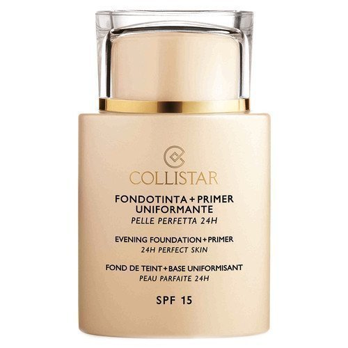 Collistar Evening Foundation + Primer SPF 15 24h Perfect Skin Cuoio
