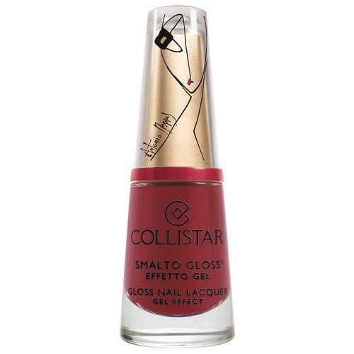 Collistar Gloss Nail Lacquer Gel Effect 579 Rosso Montalcino