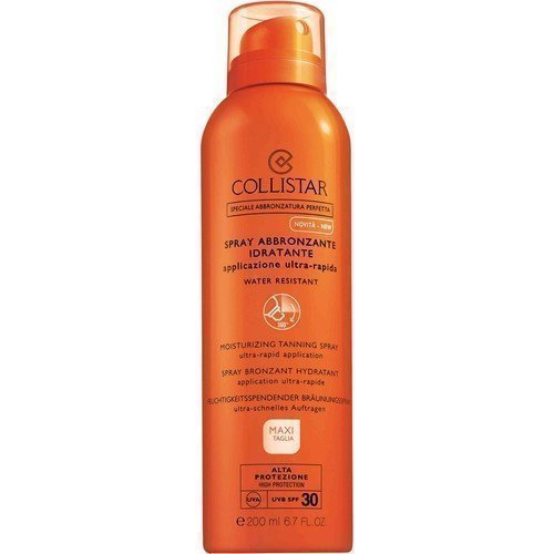 Collistar Moisturizing Tanning Spray Ultra-Rapid Application SPF 30