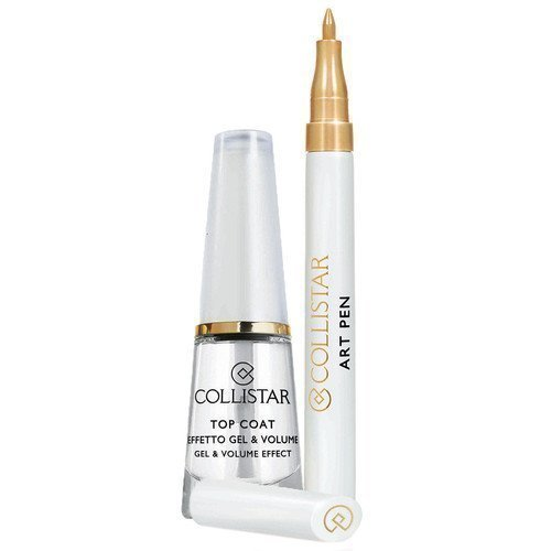 Collistar Top Coat Gel & Volume Effect & Art Pen Gold