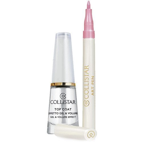 Collistar Top Coat Gel & Volume Effect & Art Pen Pink