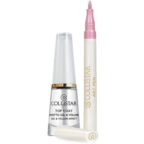 Collistar Top Coat Gel & Volume Effect & Art Pen Pink