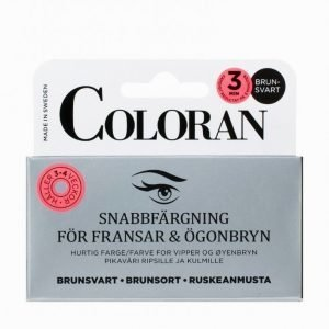 Coloran Quick Lash & Eyebrow Color Kulmaväri Musta / Ruskea