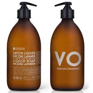 Compagnie De Provence Liquid Marseille Soap 500 Ml Incense Lavender