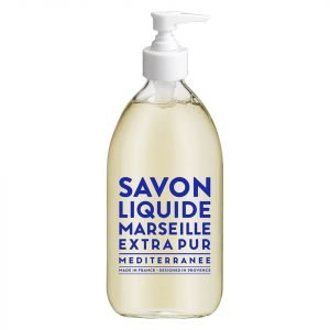 Compagnie De Provence Liquid Marseille Soap 500 Ml Mediterranean Sea