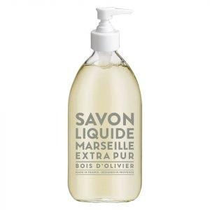 Compagnie De Provence Liquid Marseille Soap 500 Ml Olive Wood
