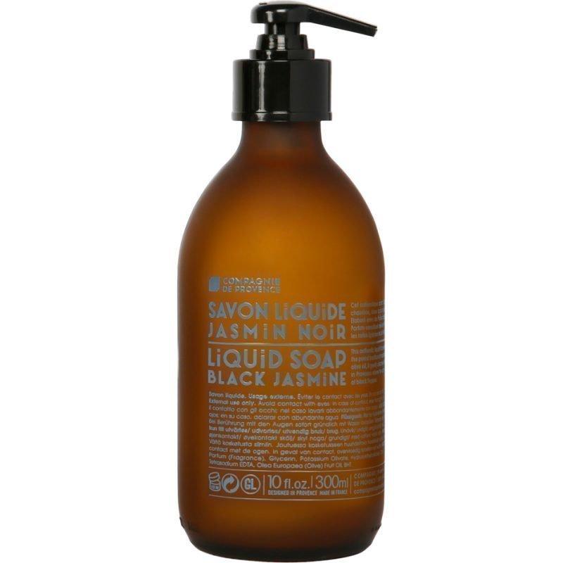 Compagnie de Provence Black Jasmine Liquid Soap With Olive Oil 300ml