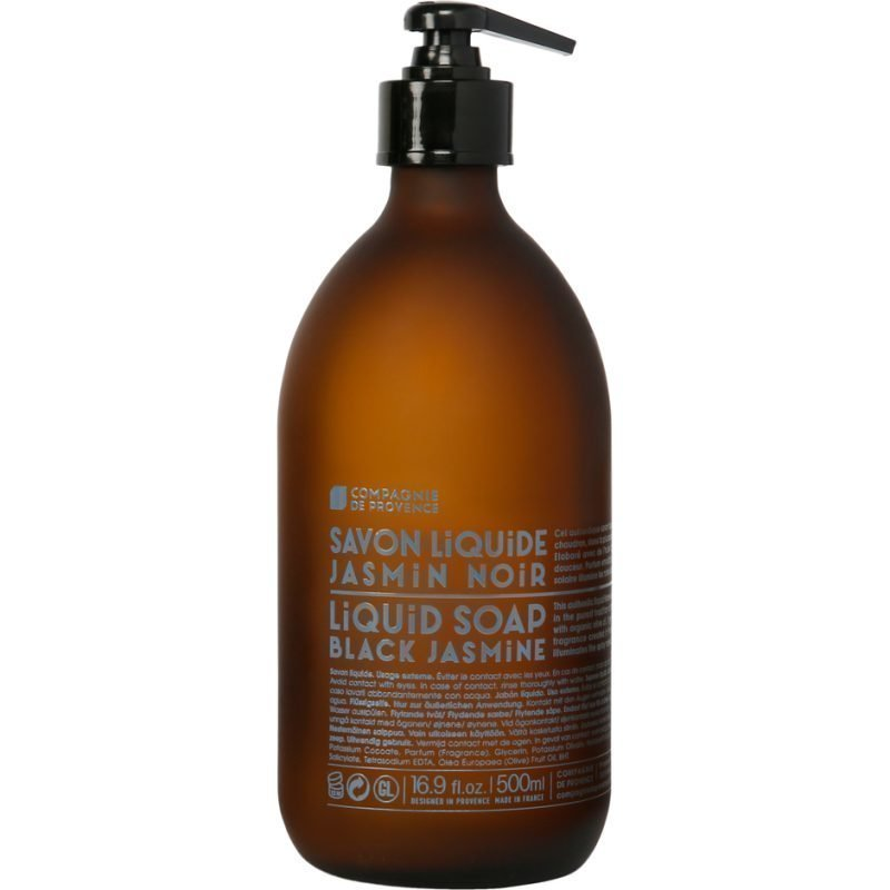 Compagnie de Provence Black Jasmine Liquid Soap With Olive Oil 500ml