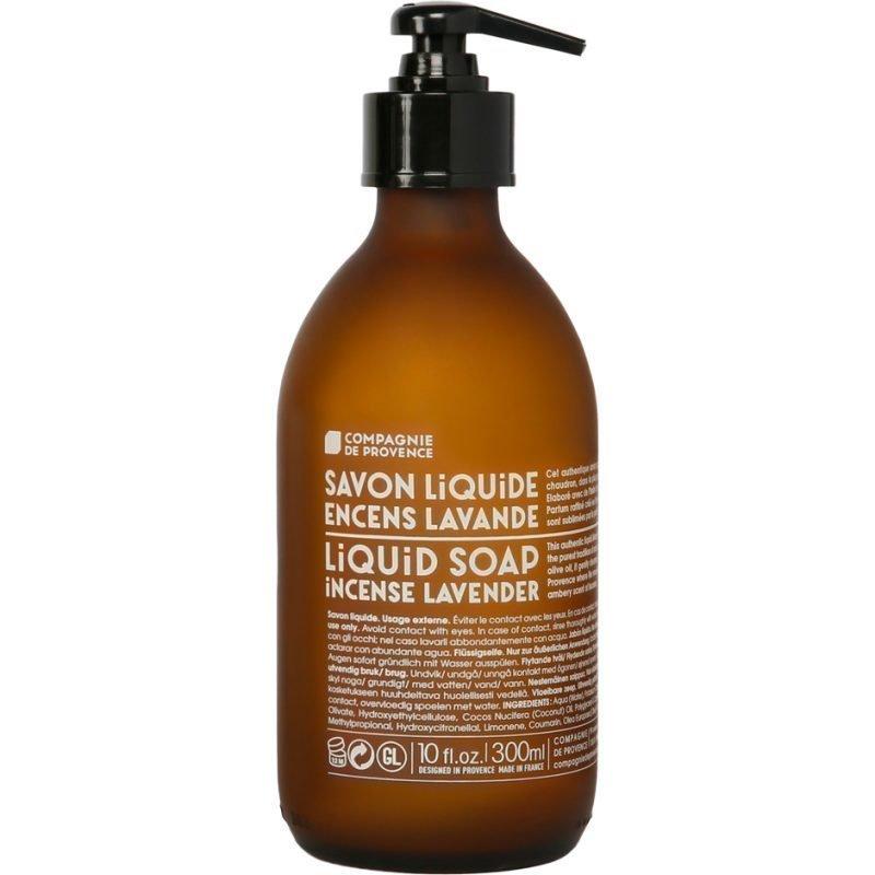 Compagnie de Provence Incense Lavender Liquid Soap With Olive Oil 300ml