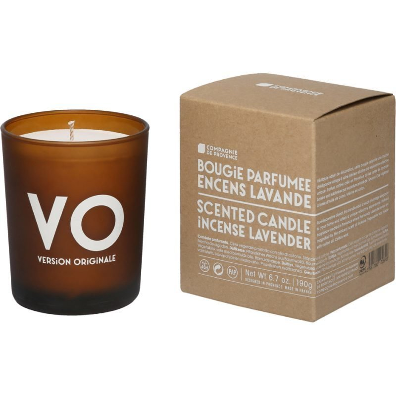 Compagnie de Provence Incense Lavender Scented Candle 190g