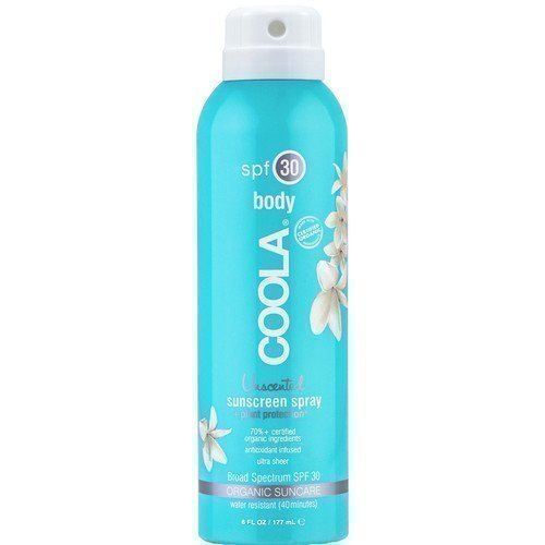 Coola Unscented Sunscreen Body Spray SPF 30