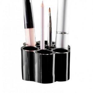 Cosmetic Organizer Brush Holder Meikkisutipidike Musta