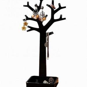 Cosmetic Organizer Jewelry Organizer Tree Koruteline Musta