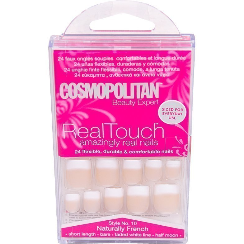 Cosmopolitan Real Touch N°10 Naturally French 24Pc