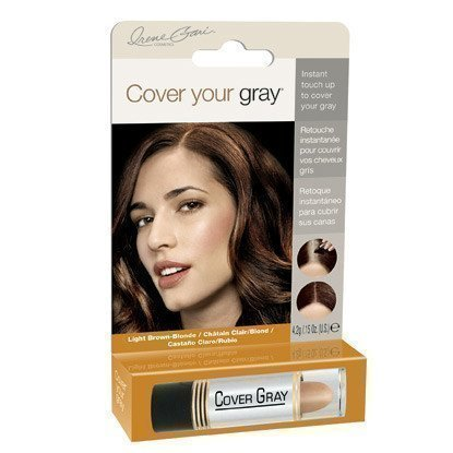 Cover Your Gray Color Stick Mörkbrun