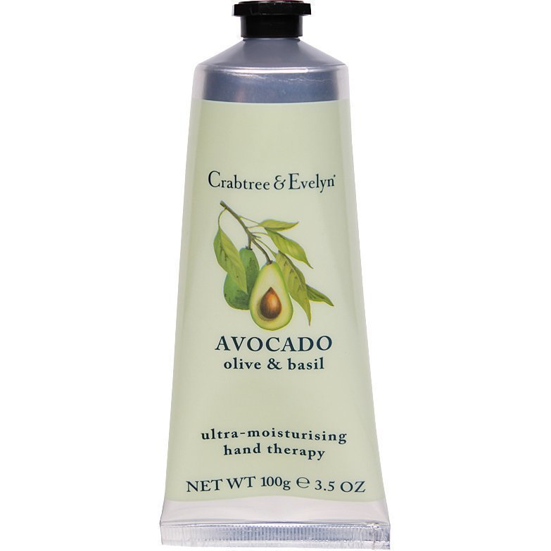 Crabtree & Evelyn Avocado Olive & Basil Hand Therapy 100g