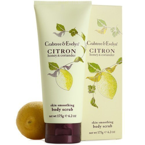 Crabtree & Evelyn Citron Honey & Coriander Body Scrub