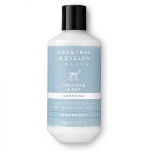 Crabtree & Evelyn Goatmilk & Oat Shower Milk 250 Ml