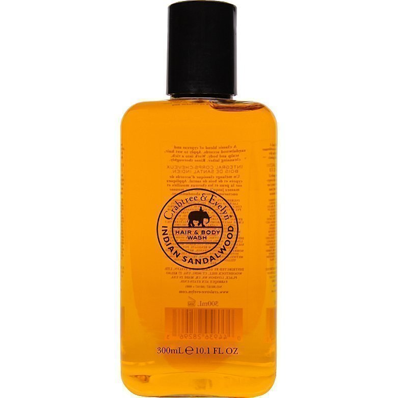 Crabtree & Evelyn Indian Sandalwood Hair & Body Wash 300ml