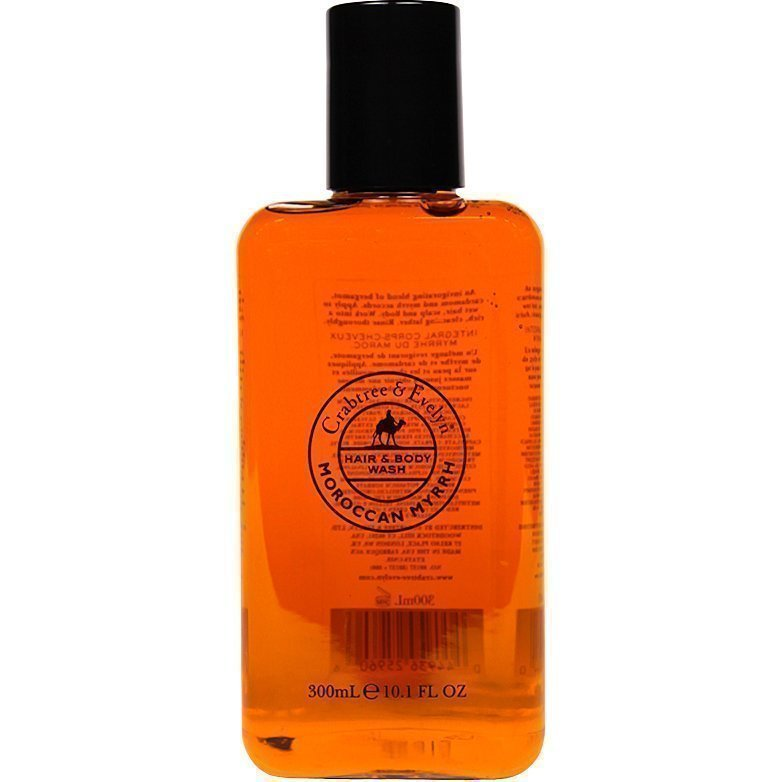 Crabtree & Evelyn Moroccan Myrrh Hair & Body Wash 300ml