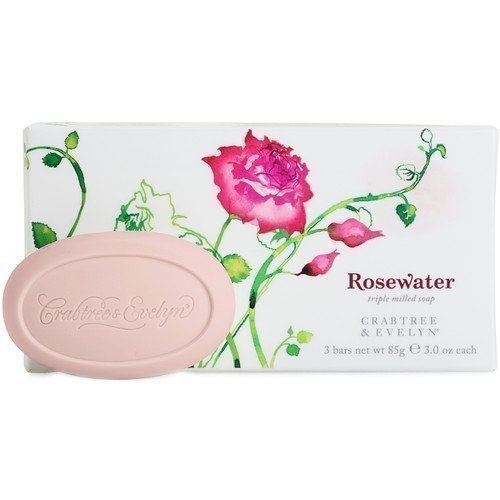 Crabtree & Evelyn Rosewater Triple Milled Soap 85 g