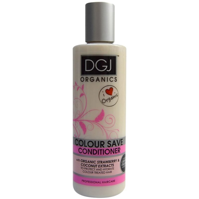 DGJ Organics Colour Save Conditioner Strawberry & Coconut Extracts 250ml