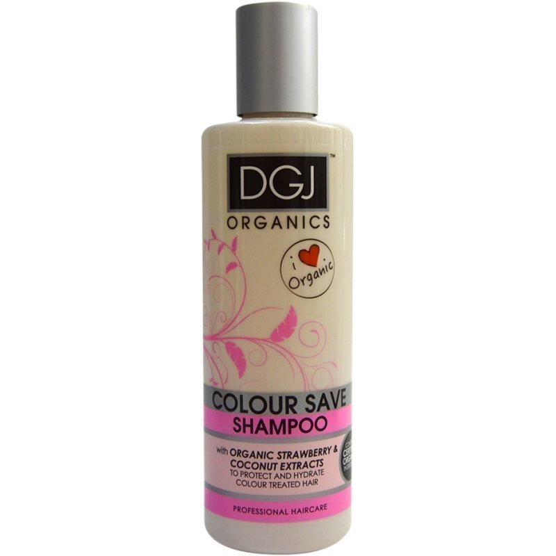 DGJ Organics Colour Save Shampoo Strawberry & Coconut Extracts 250ml