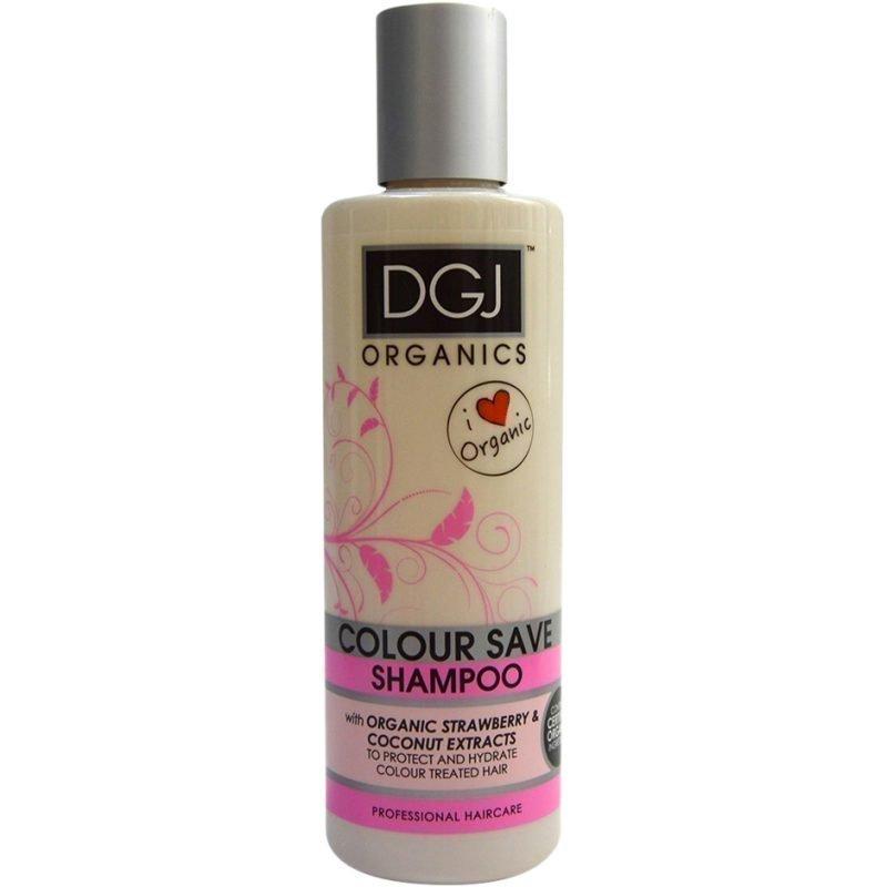 DGJ Organics Colour Save Shampoo Strawberry & Coconut Extracts 250ml