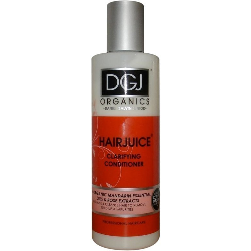 DGJ Organics Hair Juice Clarifying Conditioner Mandarine Essential Oil & Rose 250ml