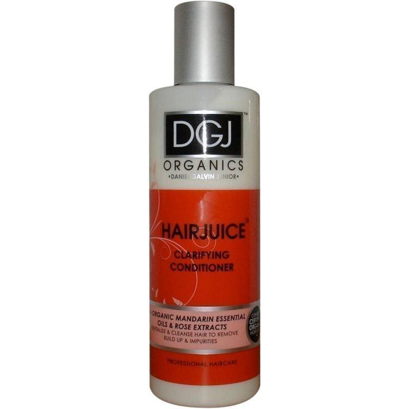 DGJ Organics Hair Juice Clarifying Conditioner Mandarine Essential Oil & Rose 250ml