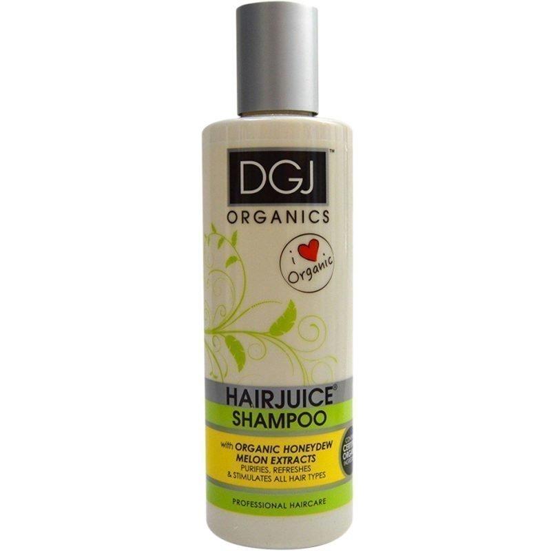 DGJ Organics HairJuice Shampoo Honeydew Melon 250ml