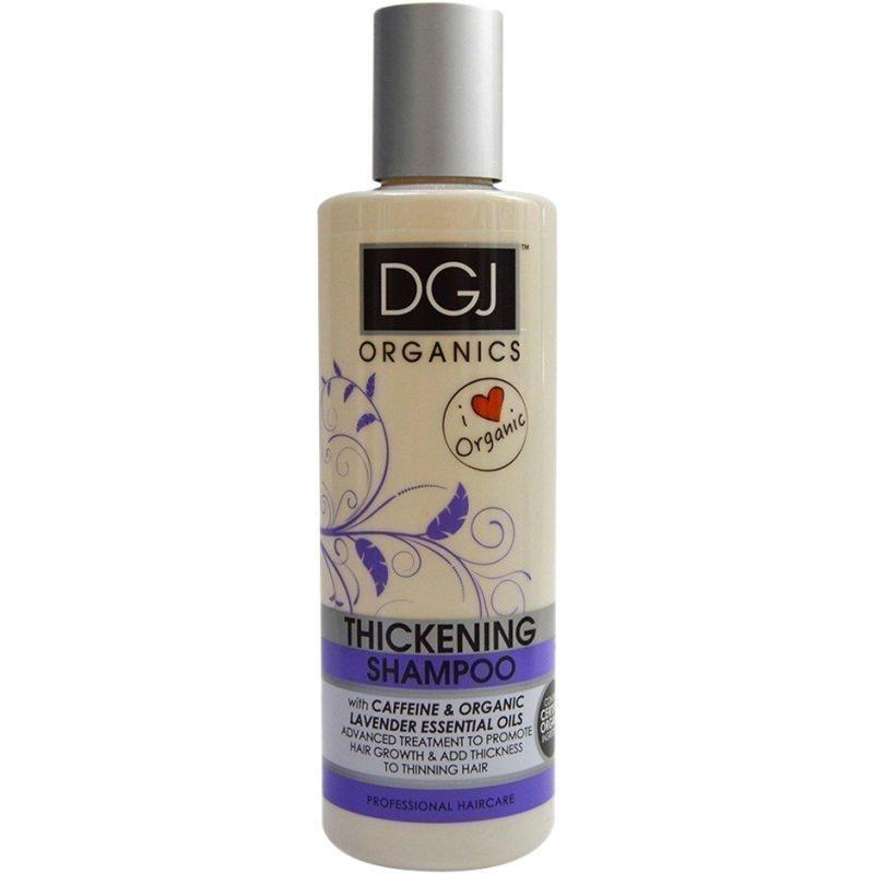 DGJ Organics Thickening Shampoo Caffeine & Lavender Essential Oils 250ml