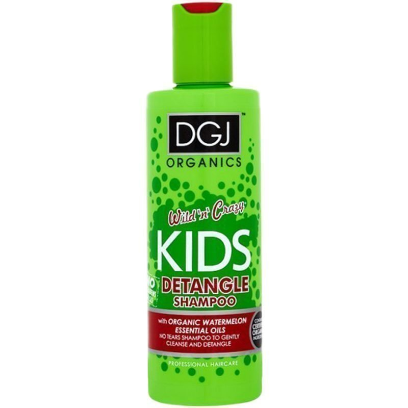 DGJ Organics Wild 'n' Crazy Kids Detangle Shampoo Watermelon 250ml