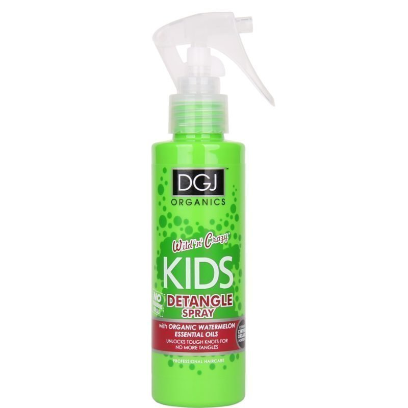 DGJ Organics Wild 'n' Crazy Kids Detangle Spray Watermelon 150ml
