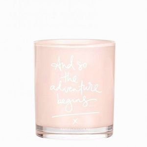 Damselfly Candles And So The Adventure Begins Tuoksukynttilä Blush