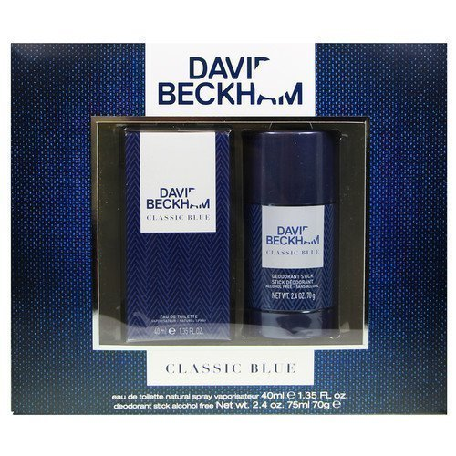 David Beckham Classic Blue Gift Set