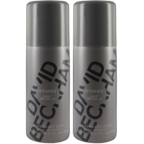 David Beckham Homme Duo 2 x Deospray 150ml