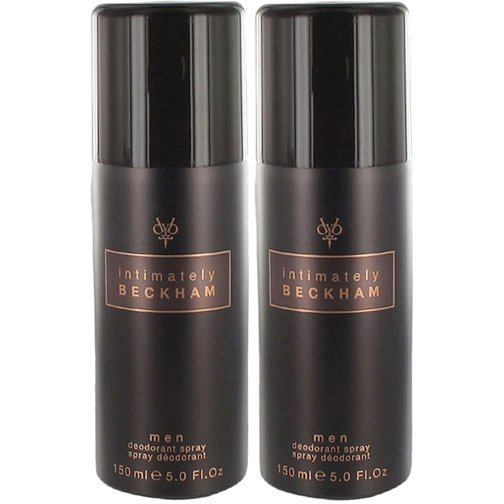 David Beckham Intimately Duo 2 x Deospray 150ml