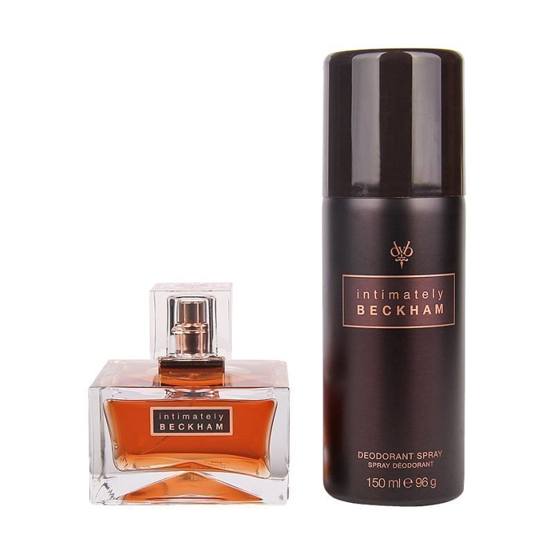 David Beckham Intimately Duo EdT 75ml Deospray 150ml