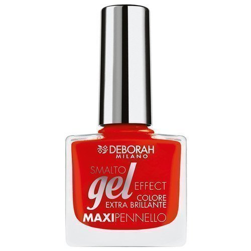 Deborah Gel Effect Nail Polish 09 Red Pusher