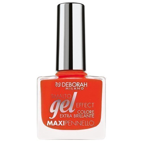 Deborah Gel Effect Nail Polish 10 Coral Flash