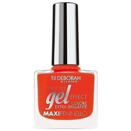 Deborah Gel Effect Nail Polish 10 Coral Flash