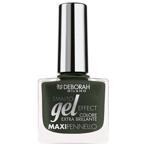 Deborah Gel Effect Nail Polish 16 Black Rock