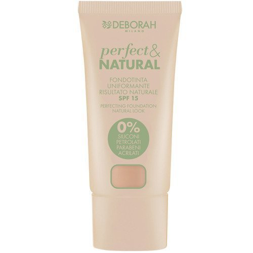 Deborah Pura Perfect & Natural Foundation 01 Light Beige