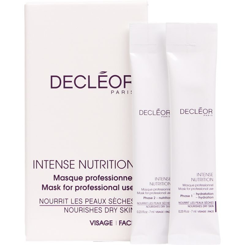 Decléor Intense Nutrition Nourishes Dry Skin 5 Sachets Of 7ml Of Phase 1 5 Sachets Of 7ml Of Phase 2
