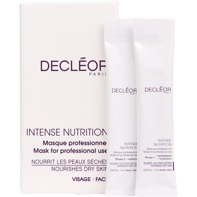 Decléor Intense Nutrition Nourishes Dry Skin 5 Sachets Of 7ml Of Phase 1 5 Sachets Of 7ml Of Phase 2